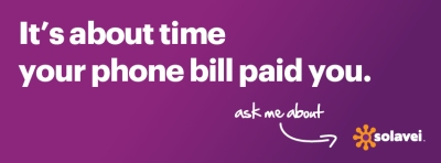 $49 a month. Sign up others and make your cell bill free.